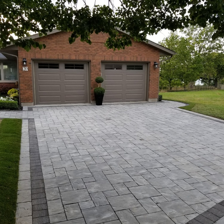 Home Driveway Design Ideas: Tree Amigos Landscaping Inc