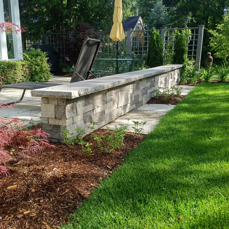 Seat Walls / Pillars - Main Category - Tree Amigos Landscaping Inc ...